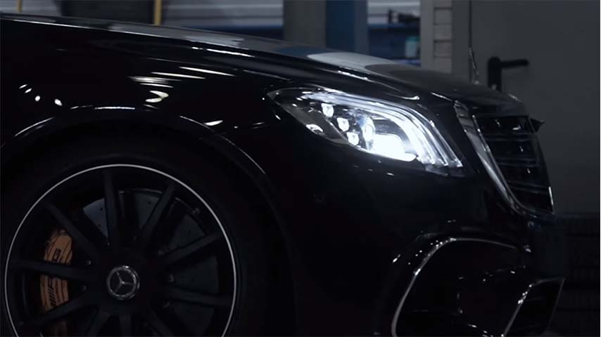 Mercedes S63, Winde, restyling